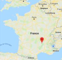 Plan Les Estables France
